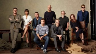 Does Elton John's Appearance In This 'Kingsman' Cast Photo Indicate A Larger Role In The Sequel?