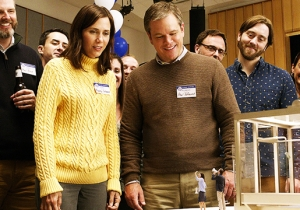 Matt Damon Gets Small In The First Trailer For Alexander Payne's 'Downsizing'