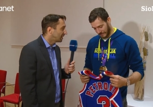 Goran Dragic Was Moved to Tears When Drazen Petrovic's Mother Gave Him A Jersey