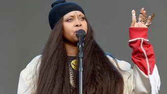 Erykah Badu Drops A Raunchy But Woke Freestyle For A NSFW Social Media Challenge