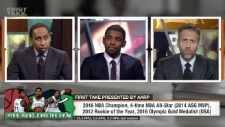 Kyrie Irving Got Grilled On 'First Take' For Leaving LeBron And The Cavs