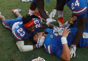 Florida Didn't Cover The Spread Against Tennessee Because It Didn't Kick A PAT After Its Hail Mary