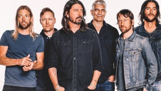 Foo Fighters Produce Yet Another Album Of Acceptable, Riff-Centric Hard Rock With 'Concrete And Gold'