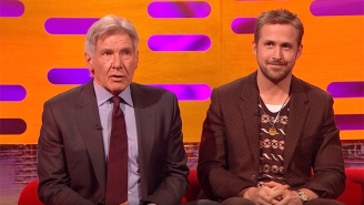 Harrison Ford Blanked On Ryan Gosling's Name While Sitting Next To Him On 'Graham Norton'