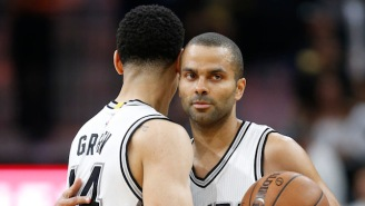 One Of Tony Parker's Teammates Believes He'll Return To The Floor 'A Lot Sooner Than People Think'