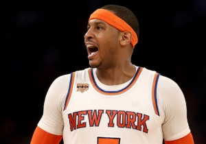 Carmelo Anthony Will 'Embrace' Playing A New Position As A Member Of The Thunder
