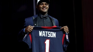 Houston Texans QB Deshaun Watson Gave His Paycheck To Stadium Employees Impacted By Hurricane Harvey