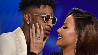 Amber Rose's Snapchat Reveals 21 Savage Has A Great Voice For R&B Love Songs