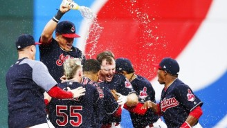 The Indians' Record-Setting Winning Streak Continued With A Spectacular Walk-Off Victory