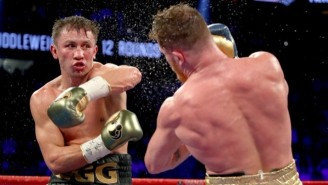 The Best Pictures From Canelo Alvarez And Gennady Golovkin's Instant Classic Fight