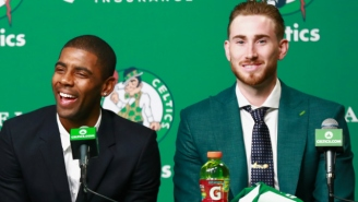 Kyrie Irving Wants Gordon Hayward To Be More Aggressive