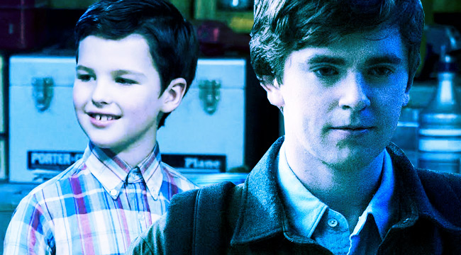 'Young Sheldon' And 'The Good Doctor' Cover A Spectrum Of Genius TV