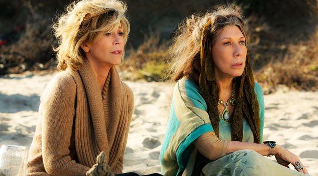 netflix original series - grace and frankie