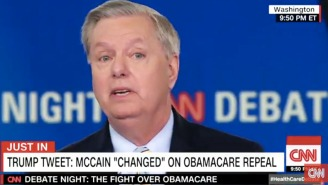 Lindsey Graham Defends John McCain Following Trump's Latest Attack: 'He Can Vote Any Way He Wants'