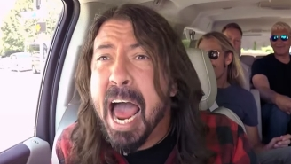Dave Grohl Is Still A Mega Frontman During Foo Fighters' 'Carpool Karaoke' Appearance