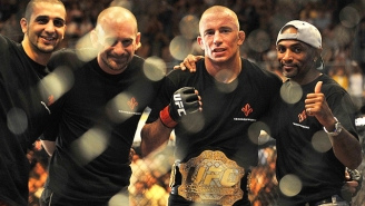Georges St-Pierre On Defending His Middleweight Belt: 'I Don't Think So'