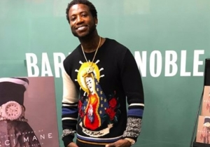 Gucci Mane's Book Signing Was Interrupted By Animal Rights Activists