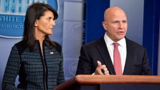 Nikki Haley Says North Korea Is 'Strangled,' While H.R. McMaster Keeps The 'Military Option' On The Table