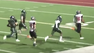 This High School Running Back Made All 11 Defenders Look Silly On This Insane Touchdown Run