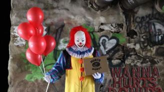 This Terrifying Clown Will Deliver Doughnuts To Your Enemies