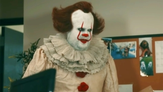 Even The Parody Version Of 'It' Is A Bit Too Creepy To Put Up With On 'The Late Late Show'