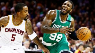 Jae Crowder And J.R. Smith Have Squashed Their Beef Now That They're Cavs Teammates