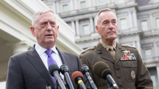 The Taliban Targeted James Mattis In A 'Massive' Rocket Attack On The Kabul Airport