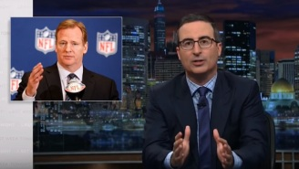 John Oliver: Trump Losing The Moral High Ground To The NFL's Roger Goodell Means 'Something Is Horribly Wrong'