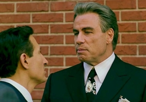 John Travolta Declares 'Everybody Comes To Me' In The First 'Gotti' Trailer