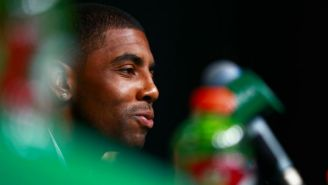Kyrie Irving's Instagram Profile Picture Is Sure To Help You Expand Your Mind