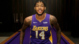 The Lakers' 'Wish' Came True When They Sold Their Jersey Ad Rights To An E-Commerce Website