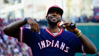 Even LeBron James Paid Tribute To Cleveland's Incredible Baseball Winning Streak