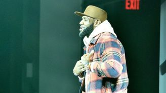 LeBron James Hit The Runway For Kith At New York Fashion Week