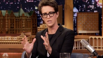 Rachel Maddow Thinks Trump Tweeting About The NFL While Ignoring Puerto Rico Is Going To Be 'In His History'