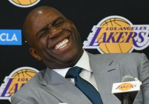 Magic Johnson Says He's Still Talking To Jeanie Buss And The Lakers 'Every Day'
