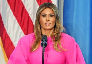 Melania Trump Condemns Cyberbullying At The U.N. And Calls Upon Leaders 'To Lead And Honor The Golden Rule'