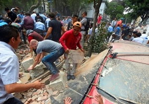 Mexico City Has Been Hit By A 'Powerful' 7.1 Earthquake On The Anniversary Of The Devastating 1985 Quake