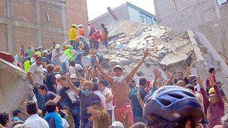 The Mexico City Earthquake Death Toll Has Risen To 217, Including 21 Children In A Collapsed School