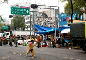 Mexico Has Been Hit By A Large 6.1 Magnitude Aftershock As Rescue Operations Continue