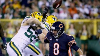 The Bears Were So Bad During Thursday Night Football They Got Owned By Butterfinger