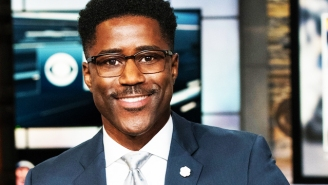 Nate Burleson Previews The NFL Season And Details His Journey To 'The NFL Today'