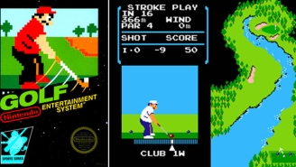 There's A Hidden Copy Of The Original Nintendo 'Golf' Game On Every Switch, You Just Can't Access It