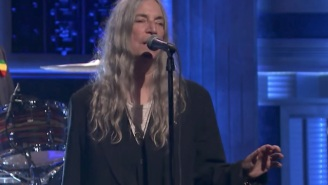 Patti Smith And Her Children Tore Through 'People Have The Power' For Late Night