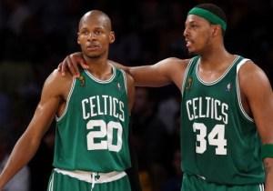 Ray Allen Doesn't Harbor 'Any Ill Will' Toward Paul Pierce And The Celtics