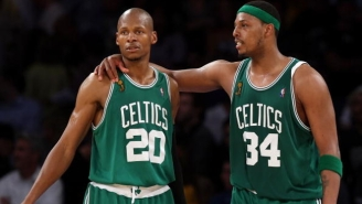 Ray Allen Doesn't Harbor 'Any Ill Will' Toward Paul Pierce And The Celtics
