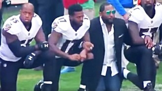 Ray Lewis Said Dropping To Two Knees During The National Anthem Was Not A Form Of Protest Or Solidarity