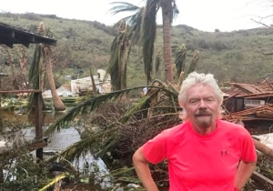 Richard Branson Warns That This Hurricane Season Is 'The Start Of Things To Come'