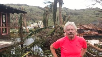 Richard Branson Reveals Irma's Devastation On His Private Island While Blaming Climate Change