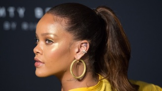 Rihanna Accidentally Ethered 'American Idol' On Her Diamond Ball Red Carpet