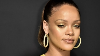 Rihanna's Yellow Look At The Fenty Beauty Launch Had The Internet In Awe
